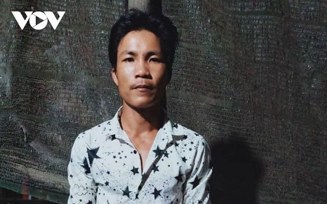 Nguyễn Mến Em- hung thủ đốt cha ruột dẫn đến tử vong.