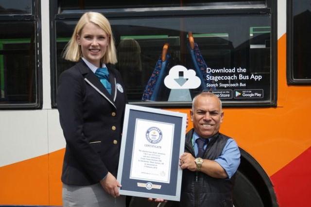 Hampshire phá vỡ kỷ lục Guinness Thế giới cho vị trí