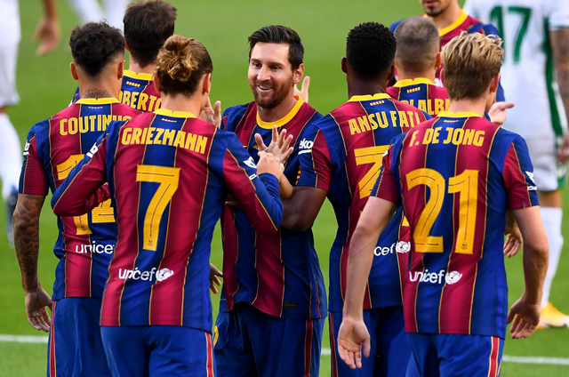 Barcelona lần thứ 8 liên tiếp giành Joan Gamper Cup.