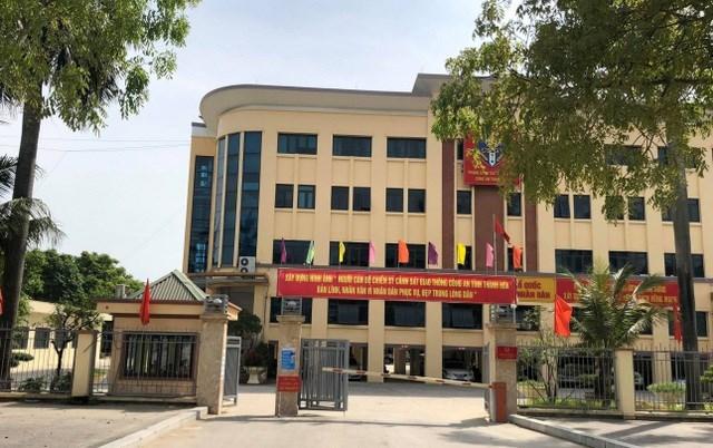 Phòng CSGT Công an Thanh Hoá- nơi Đại úy Lê Văn Tuân công tác.