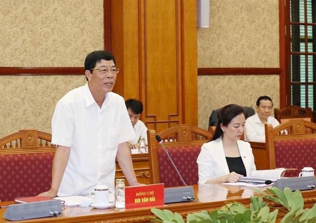 Hình ảnh Bộ Chính trị làm việc với các Đảng bộ trực thuộc Trung ương - Ảnh 5