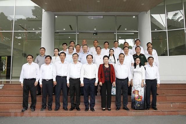 Hình ảnh Bộ Chính trị làm việc với các Đảng bộ trực thuộc Trung ương - Ảnh 13