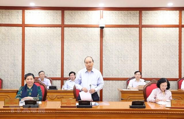 Hình ảnh Bộ Chính trị làm việc với các Đảng bộ trực thuộc Trung ương - Ảnh 10
