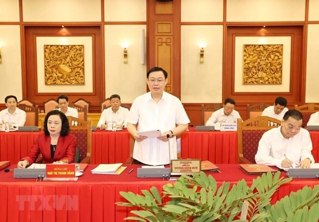 Hình ảnh Bộ Chính trị làm việc với các Đảng bộ trực thuộc Trung ương - Ảnh 2