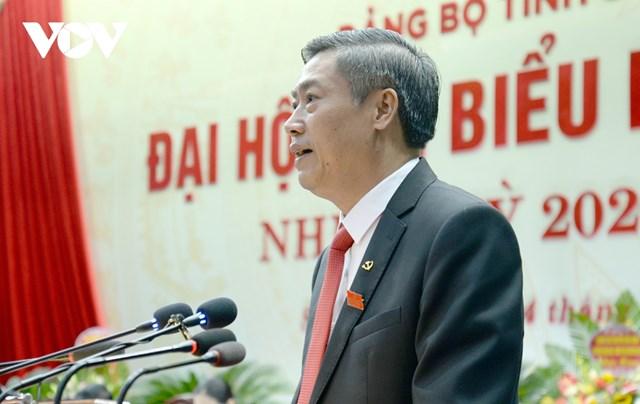 Ông Nguyễn Hữu Đông, Bí thư Tỉnh ủy Sơn La.