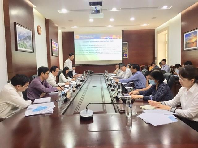 Phiên họp thường kỳ Tháng 9- Thường trực HĐND thành phố Đà Nẵng.