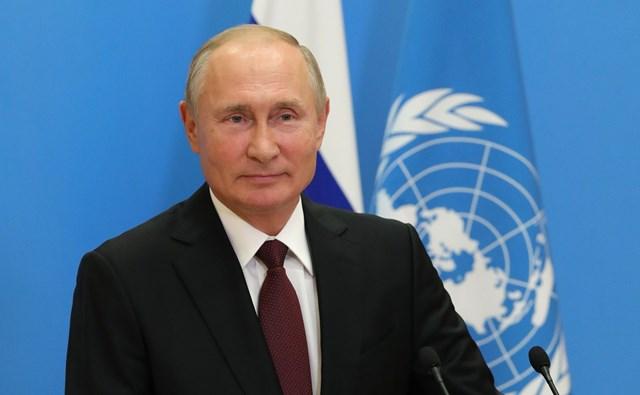 Tổng thống Nga Vladimir Putin (Ảnh: UN).