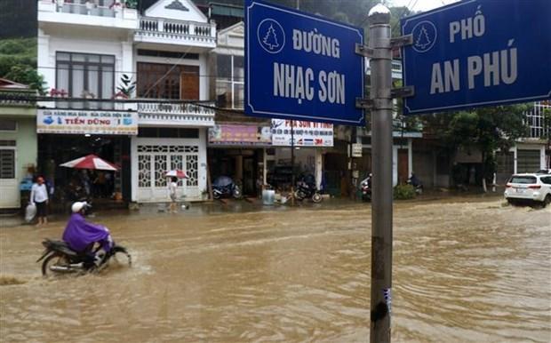 Mưa lớn gây thiệt hại tại các địa phương của tỉnh Lào Cai - Ảnh 1