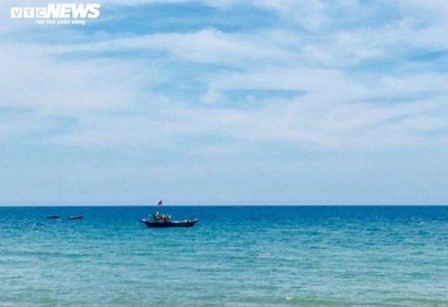 Biển Thống Nhất - nơi phát hiện thi thể người đàn ông ngoại quốc.