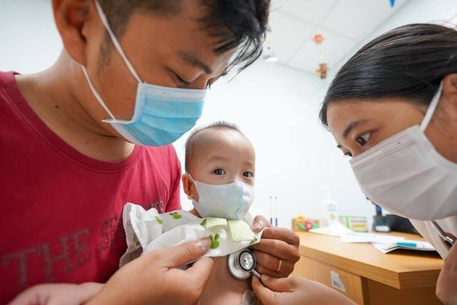 Các con được bác sĩ nhận định đã hoàn toàn bình phục sau cuộc đại phẫu.