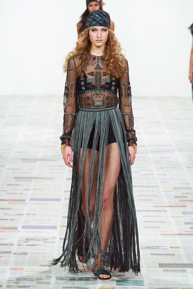 BST Dior Thu – Đông 2020. (Ảnh: Gorunway).
