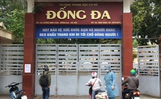 Trường THCS Đống Đa, Hà Nội.