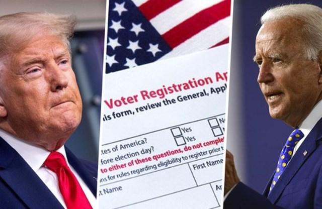 Hai ứng viên tranh cử Tổng thống Mỹ - Trump và Biden. (Ảnh: AP).