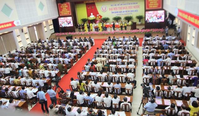Quang cảnh Đại hội thi đua yêu nước tỉnh Quảng Nam lần thứ VIII.