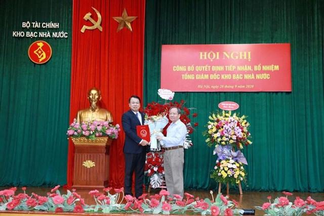 Ông Nguyễn Đức Chi được điều động giữ chức Tổng giám đốc Kho bạc Nhà nước. Nguồn: ANTĐ.