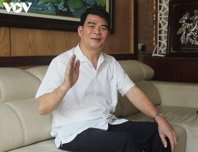 Nguyên Thứ trưởng Bộ Nội vụ Nguyễn Tiến Dĩnh.