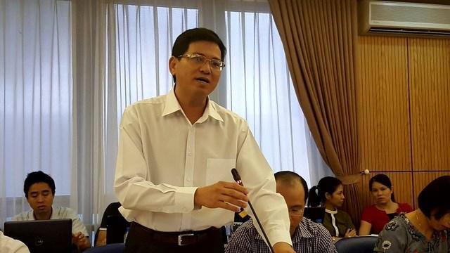 Ông Nguyễn Văn Lực - Phó tổng cục trưởng Tổng cục Thi hành án dân sự được giao làm Tổ trưởng tổ công tác.