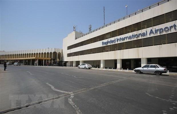 Sân bay quốc tế Baghdad, Iraq. (Ảnh: AFP/TTXVN).