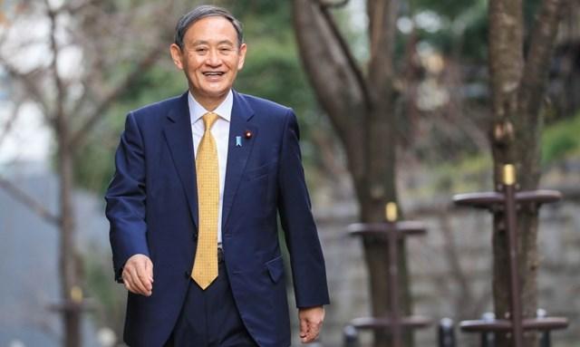 Tân Thủ tướng Nhật Bản Suga Yoshihide. Ảnh: Reuters.