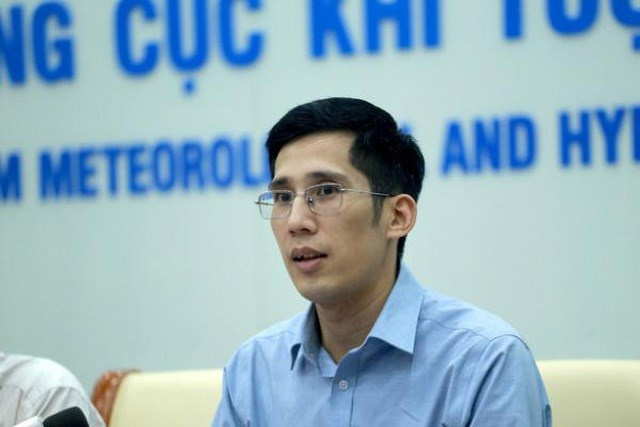 Ông Trần Quang Năng - Trưởng phòng Dự báo thời tiết (Trung tâm Dự báo khí tượng thủy văn Quốc gia).