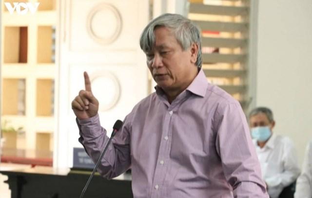 Ông Liêm tại phiên toà ngày 13/8.