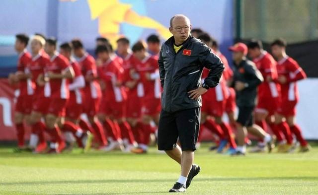 HLV Park Hang Seo có thể dẫn dắt U22 Việt Nam thi đấu vào cuối năm 2020.