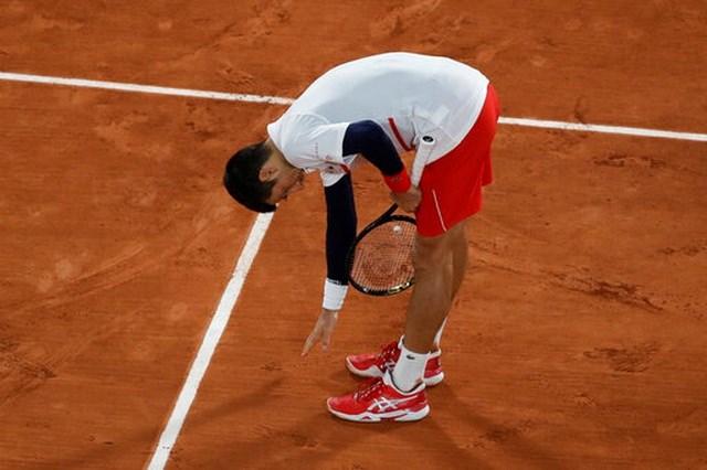 Djokovic vẫn chưa bị đánh bại trong năm 2020.