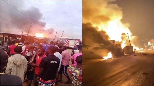 Nigeria: 5 người thiệt mạng trong vụ nổ xe chở khí đốt - Ảnh 1