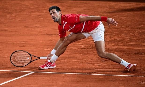 Djokovic nhọc nhằn vào chung kết Roland Garros 2020. (Nguồn: AFP/Getty Images).