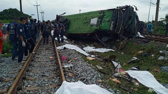 Vụ tai nạn xảy ra vào khoảng 8h sáng 11/10 (theo giờ địa phương) tại nhà ga Khlong Khwaeng Klan ở tỉnh Chachoengsao, cách thủ đô Bangkok khoảng 50 km về phía đông.