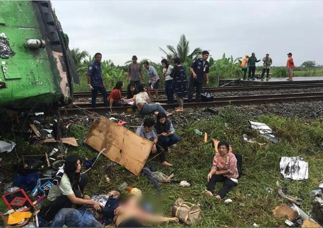 Giới chức Thái Lan cho biết ít nhất 20 người thiệt mạng và 29 người bị thương trong vụ tai nạn. Con số thương vong dự kiến sẽ còn tăng lên.