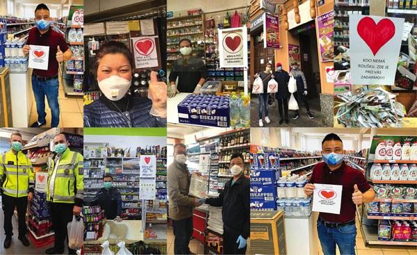 Thông điệp trái tim của Trần Văn Sang ngay lập thu hút sự hưởng ứng của hàng chục nghìn fan và hàng trăm cửa hàng.