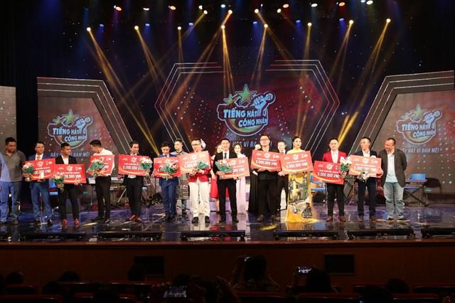 BTC trao 11 giải khuyến khích cho các thí sinh.