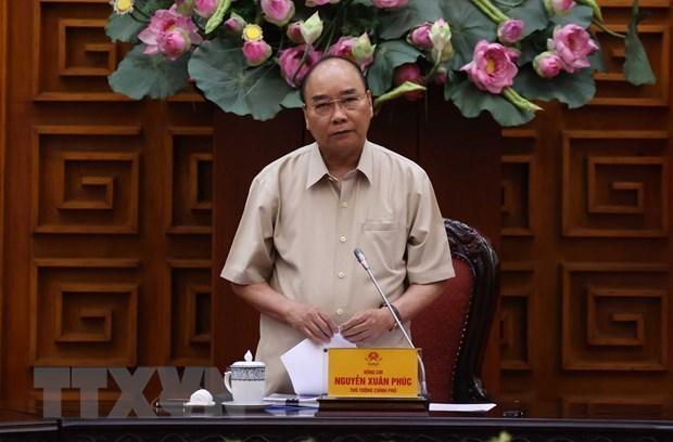 Thủ tướng Chính phủ Nguyễn Xuân Phúc. (Ảnh: Thống Nhất/TTXVN).