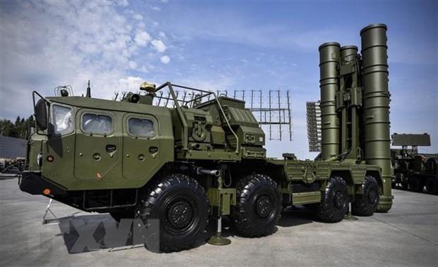 Thổ Nhĩ Kỳ lần đầu thử nghiệm hệ thống tên lửa phòng không S-400 - Ảnh 1