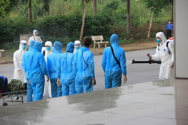 Hiện có 12.379 người tiếp xúc gần và nhập cảnh từ vùng dịch đang được theo dõi sức khỏe (cách ly). (Ảnh minh họa:Vietnam+).