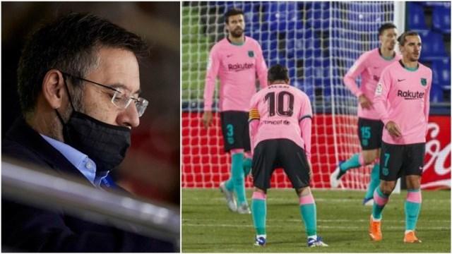 Nội bộ Barcelona đang chia rẽ trước thềm trận Siêu kinh điển.