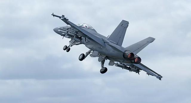 Máy bay chiến đấu F-18 Super Hornet (Ảnh: Sputnik).