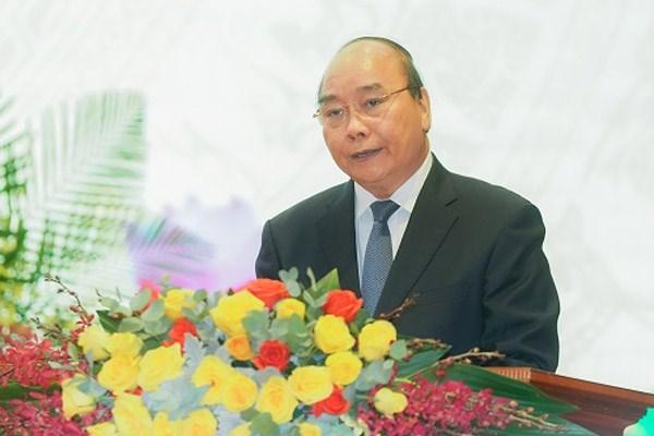 Thủ tướng Nguyễn Xuân Phúc phát biểu tại buổi Lễ. Ảnh: VGP.