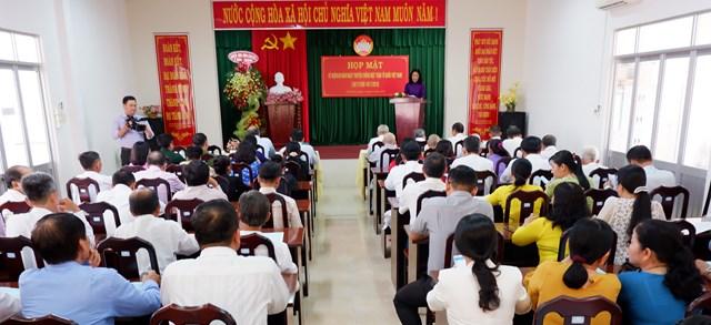 Bình Thuỷ, Cần Thơ: Họp mặt kỷ niệm 89 năm ngày truyền thống MTTQ Việt Nam