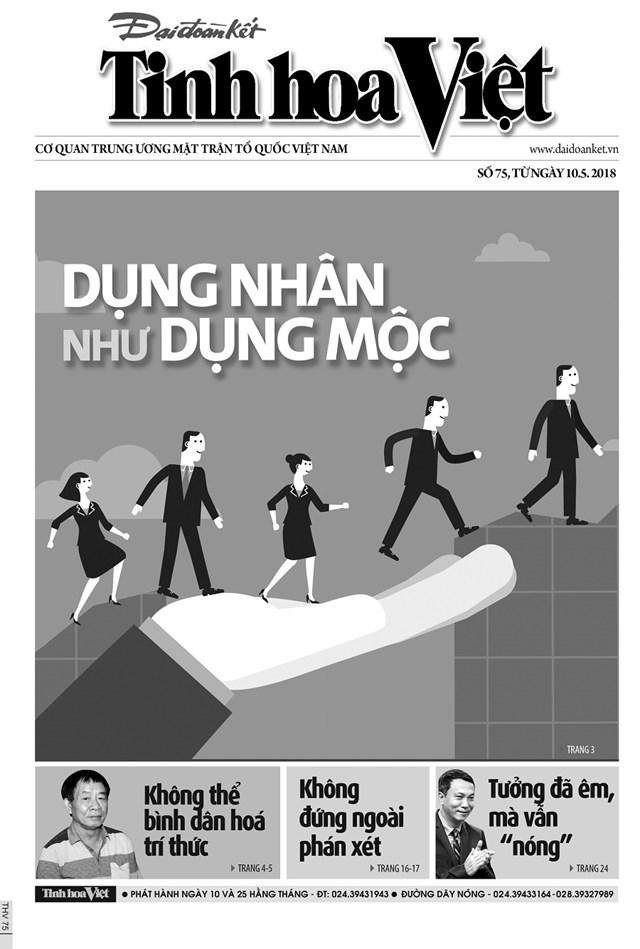 Đón đọc Tinh hoa Việt số 75, phát hành ngày 10/5/2018