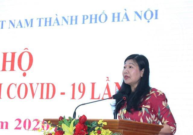 Mặt trận Hà Nội: Tiếp nhận hơn 4 tỷ đồng ủng hộ phòng, chống dịch Covid-19