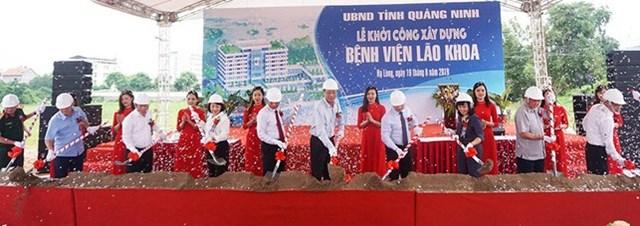 Quảng Ninh xây dựng Bệnh viện Lão khoa