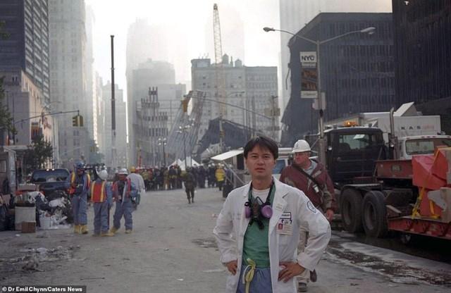 Hình ảnh lần đầu công bố về hiện trường thảm khốc vụ khủng bố 11/9 - 9