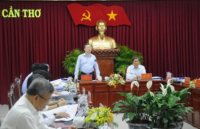 Bộ Chính trị kiểm tra thực hiện hai Nghị quyết Trung ương khóa XII tại Cần Thơ