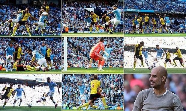 Manchester City đi vào lịch sử sau chiến thắng hủy diệt 8-0 - 1