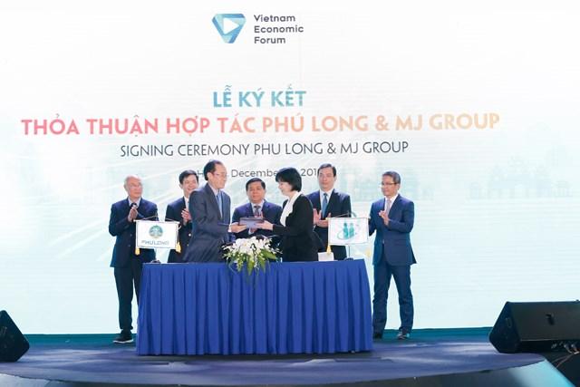 Phú Long hợp tác với MJ Group phát triển dịch vụ chăm sóc sức khoẻ, sắc đẹp cao cấp