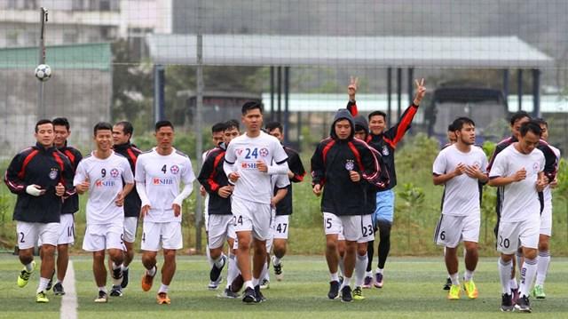 SHB Đà Nẵng xuất quân mùa giải 2018