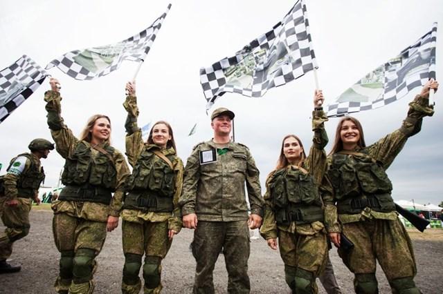 [ẢNH] Những 'bông hồng thép' tại Hội thao Quân sự quốc tế -  International Army Games 2019 - 3