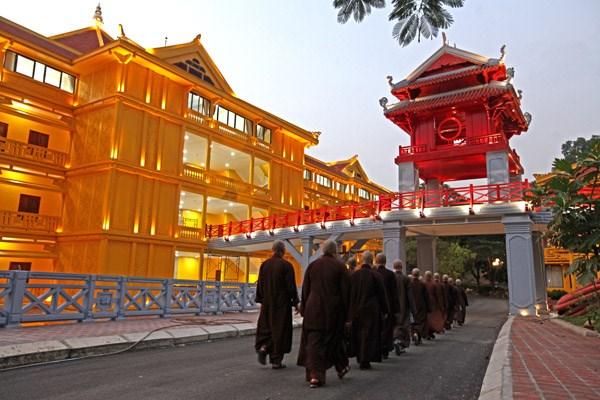 [ẢNH] Một ngày ở Học viện Phật giáo Việt Nam